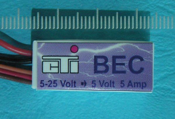BEC 5-25V Eingangsspannung, 5,0V Ausgang . 5A Dauerstrom. Ma