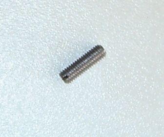 25 stadniny / gwintowany sworzeń DIN551 stalowe puste, M2 x 20 mm