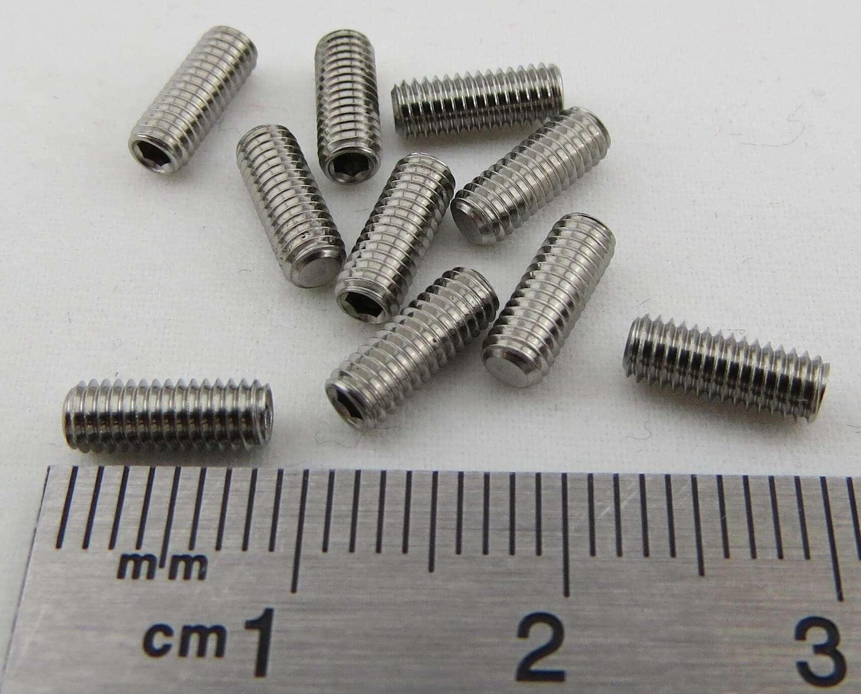 10x tornillo carrocería perno hexagonal con cristal para mercedes 4,7 x 20 mm