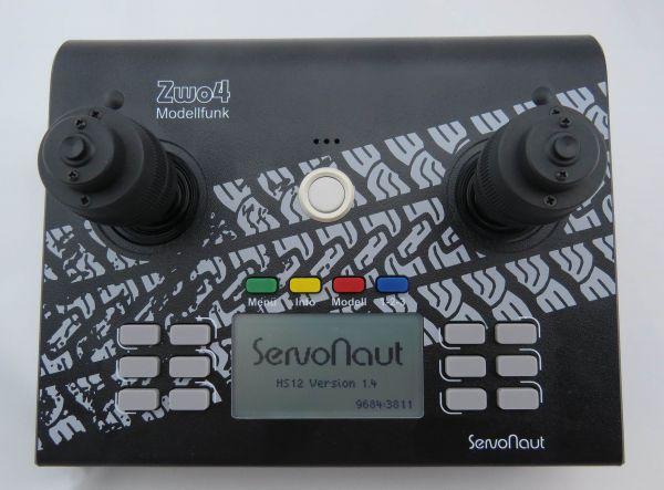 Nadajnik biurko Servonaut HS 12, 3D kij, 2,4GHz, czarny