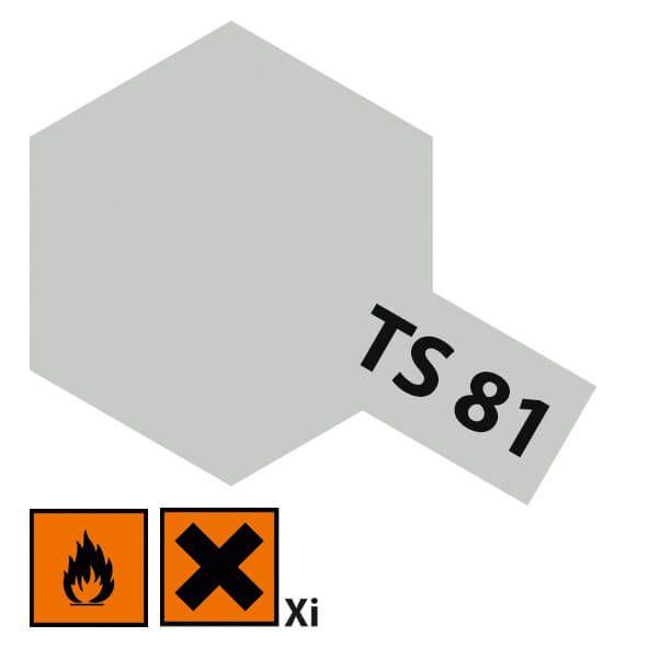 1x farby w sprayu cyny 100ml, British Navy szara, matowa, TS 81
