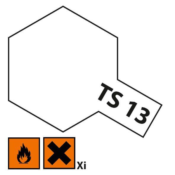 1x farby w sprayu cyny 100ml, bezbarwny, błyszczący, TS 13