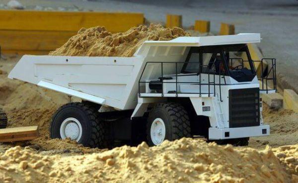 Bausatz Großraummulden-Dumper, Sandmaster GMK4000