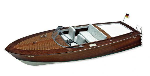 Modellbausatz PRINCESS, Sportboot nach italienischem