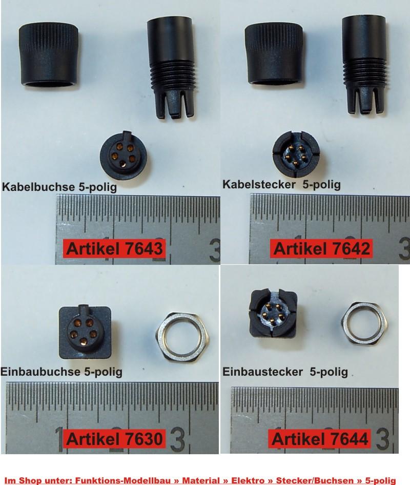 Beste 5 Poliger Elektrischer Stecker Bilder - Elektrische ...
